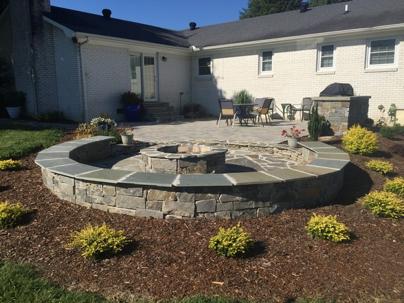 Fayetteville Paver Patio Project Gallery