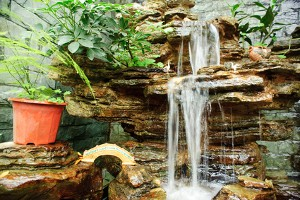 Landscaping Water Features in Hampton Cove